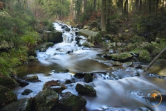 Bode-Wasserfall bei Braunlage