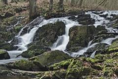 Selke-Wasserfall bei Drahtzug